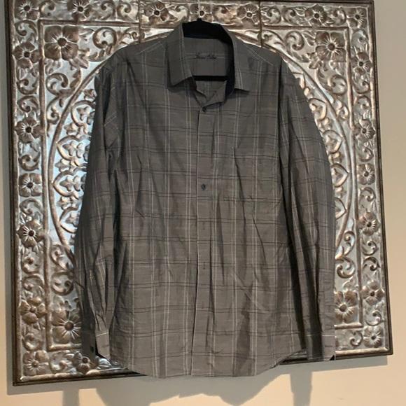 MOVING SALE 💖 Men's XL 17-17 1/2 Tasso Elba shirt